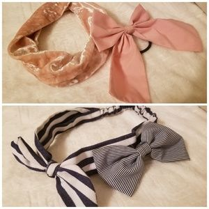 Bundle of 4🎀🌸🎀 Headbands and Hairbows